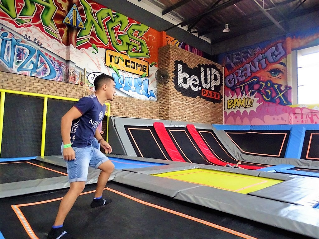 Dodgeball at BE.UP Park Cape Town